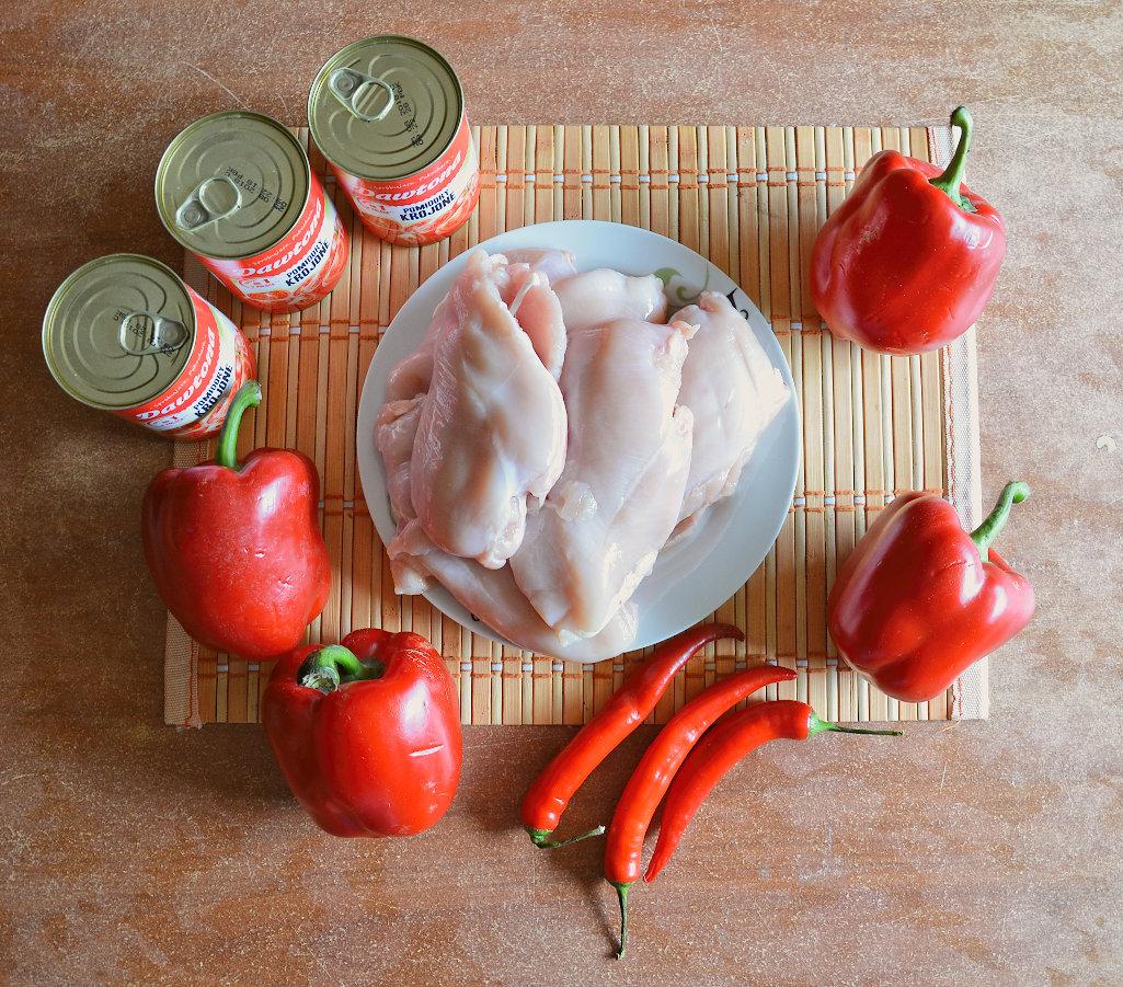 Potrawka z kurczaka 1