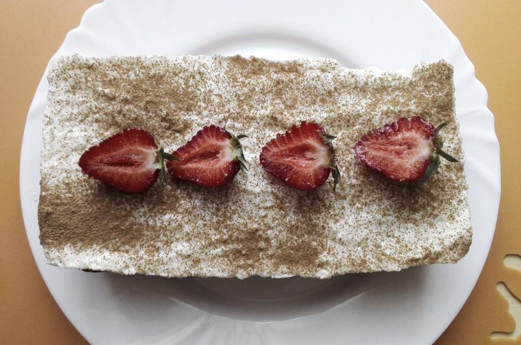 Ciasto marchewkowo-truskawkowe 1