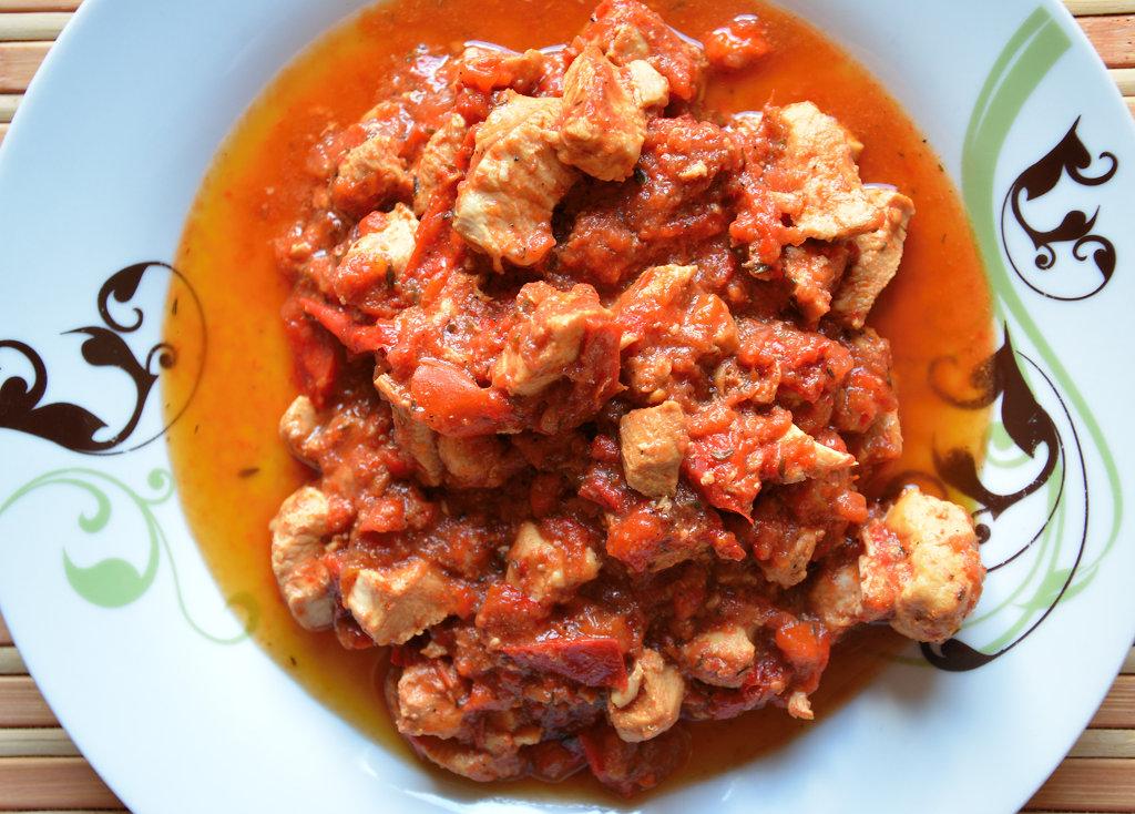 Potrawka z kurczaka 4