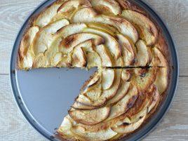 Ciasto jaglane z jabłkiem